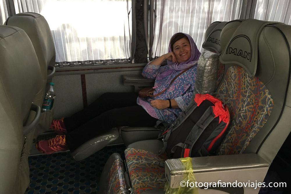 Autobus VIP en Iran