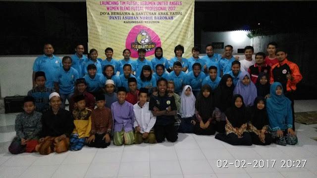 Launching, KU Angels Santuni Anak Yatim