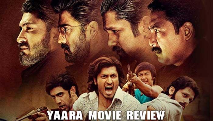 Yaara Movie Review in Hindi, Vidyut Jammwal, Shruti Hassan, AMit Sadh