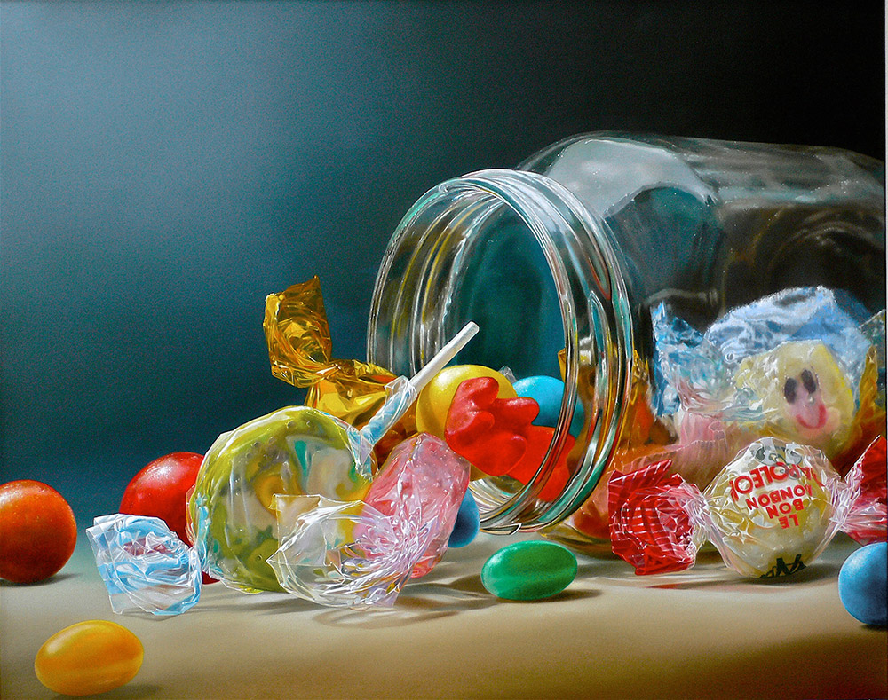 12-Candies-in-a-Jar-Tjalf-Sparnaay-The-Beauty-of-the-Everyday-Paintings-of-Food-Art-www-designstack-co