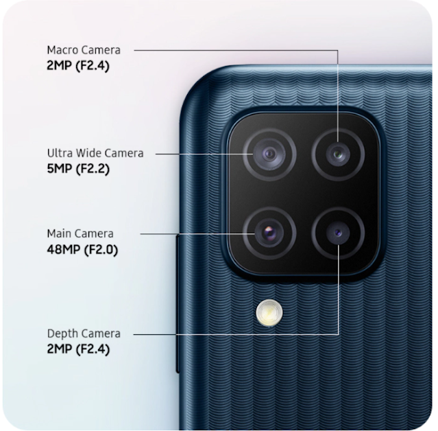 Kamera Samsung Galaxy M12