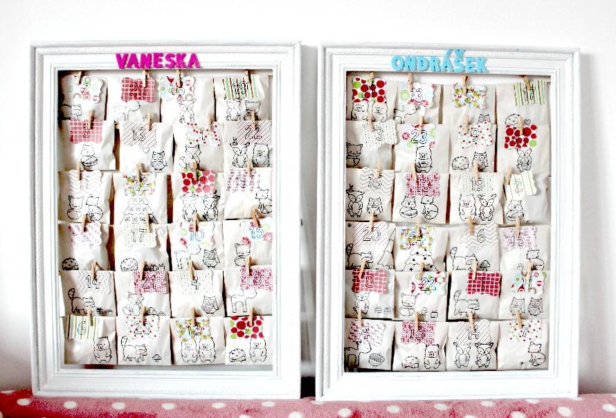 adventni kalendar diy Papero amo: DIY adventní kalendář adventni kalendar diy