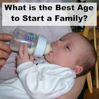 What is the Best Age to Start a Family - Newborn being bottle fed.