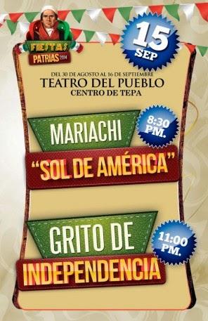 Programa fiesta patrias tepatitlán 2014