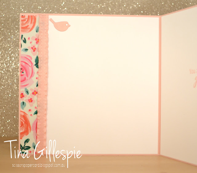 scissorspapercard, Art With Heart, Colour Creations, Tropical Chic, Garden Impressions, Thank You Thinlit, Well Said Framelits