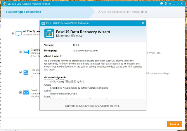 34 LICENSE FOR EASEUS DATA RECOVERY WIZARD 8.5, DATA FOR 8 ...