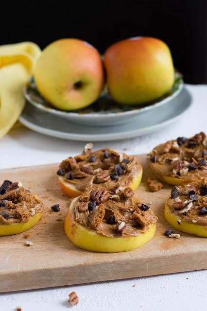 Recette de tartines de pommes aux spéculoos pour les enfants