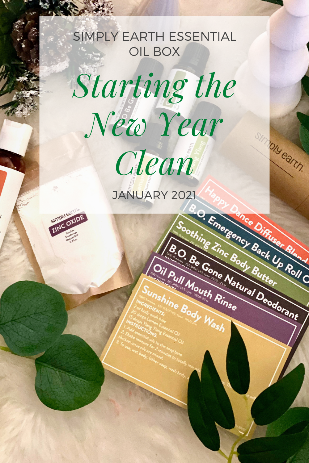 Starting the New Year Clean With Simply Earth