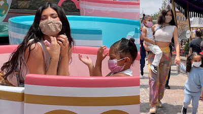 Kylie Jenner, Travis Scott, and Stormi visit Disney with others to enjoy - Photos & Videos