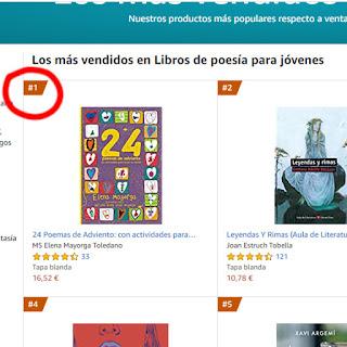 Soy bestseller en Amazon