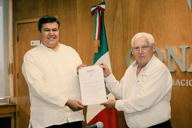 Rinde protesta Octavio Almada Palafox como nuevo titular de la Comisión Nacional de Acuacultura y Pesca