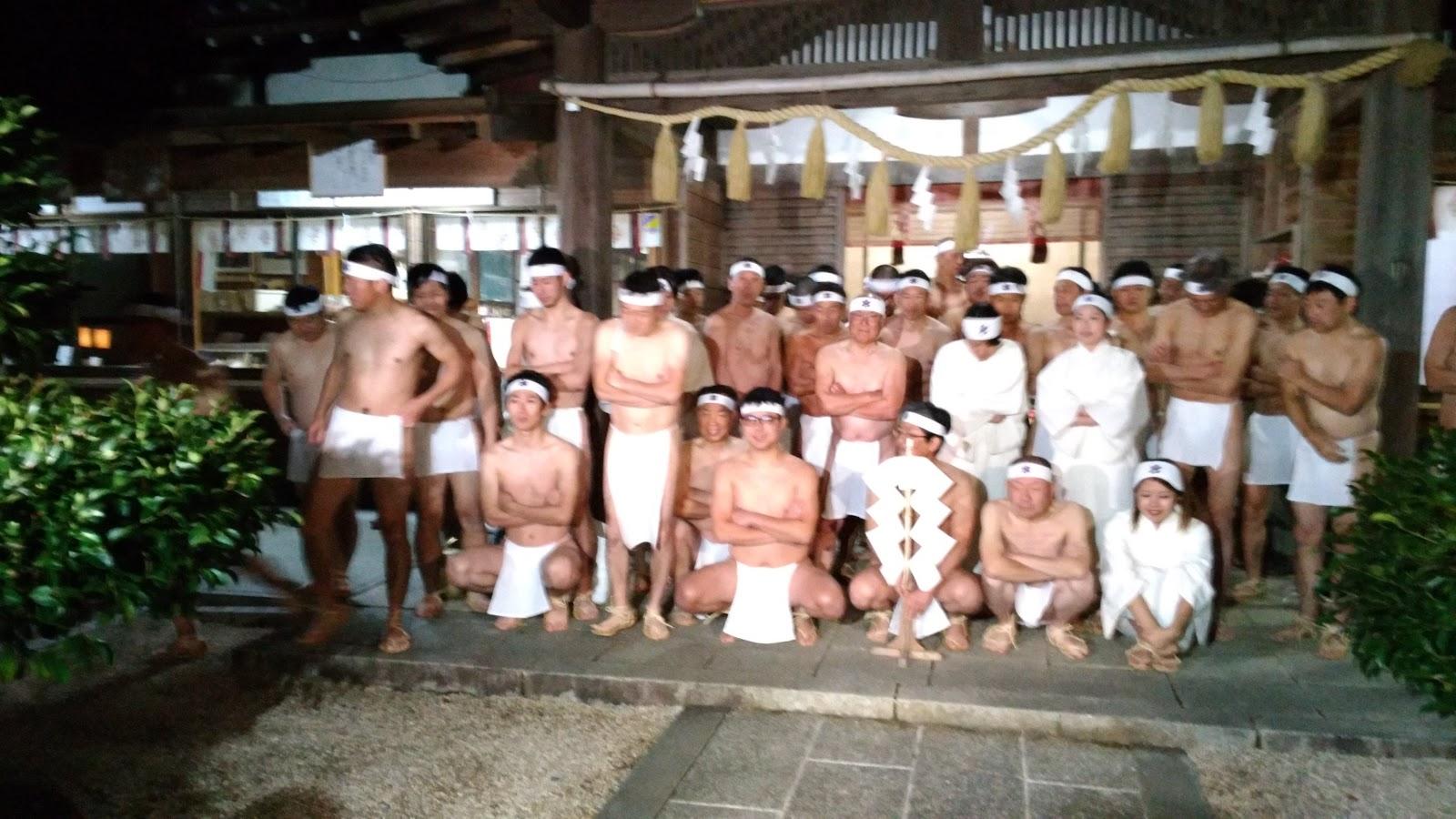 2018年1月20日 長崎県雲仙市の橘神社で寒中みそぎ!