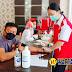Polres Nias dan PMI Kabupaten Nias Laksanakan Kegiatan Donor Darah