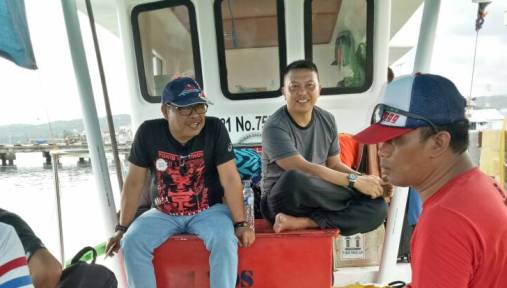 Hari Ke 5, Kunker Bupati Selayar, Berada ,Di Pulau Lambego