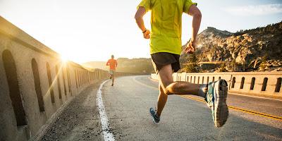 Berlari pagi membuat sehat dan cerdas