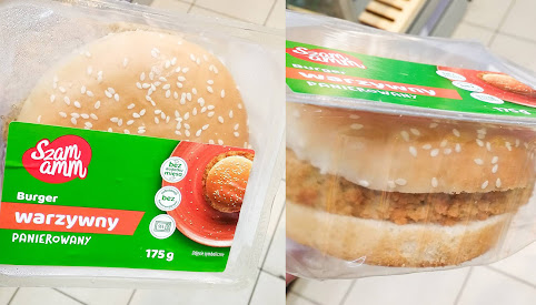 Burger warzywny