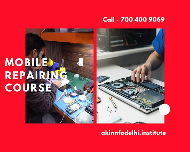 mobile repairing institute in laxmi nagar
