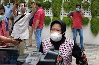 Surabaya Zona Hitam Covid-19, Akibat Candaan Risma Dua Bulan Lalu?