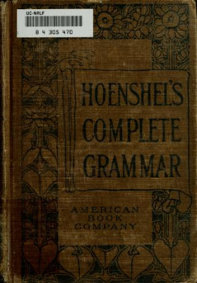 Complete English grammar for common