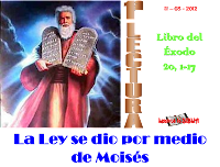 Resultado de imagen para En aquellos días, el Señor pronunció las siguientes palabras: «Yo soy el Señor, tu Dios, que te saqué de Egipto