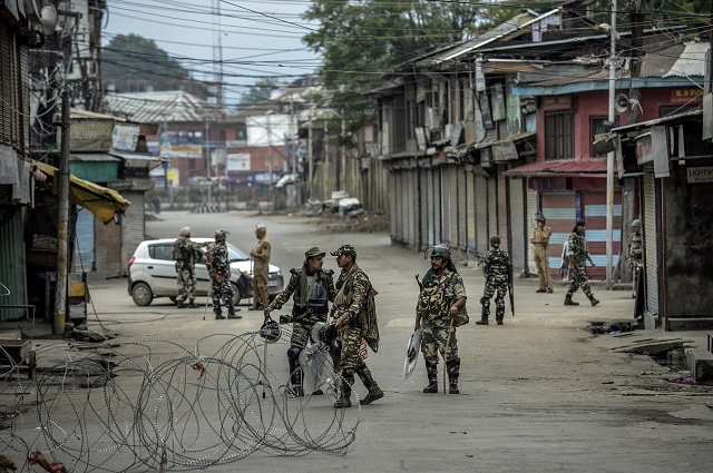Why was India not declared a rogue state for invading and annexing Kashmir?