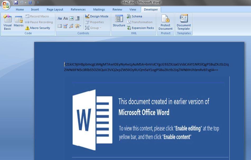 malware analysis word document