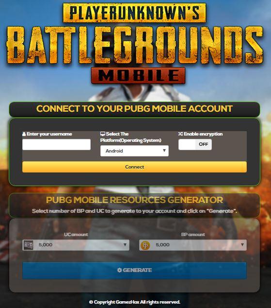 Cara Mendapatkan UC gratis di PUBG Mobile dengan Gamezhax Com PUBG