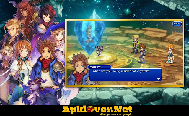 FINAL FANTASY DIMENSIONS II MOD APK full patched