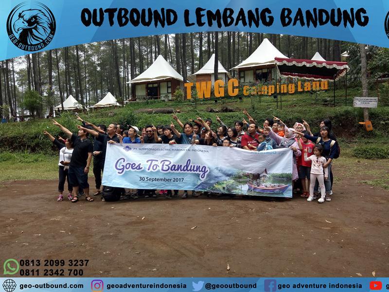 Outbound di Lembang