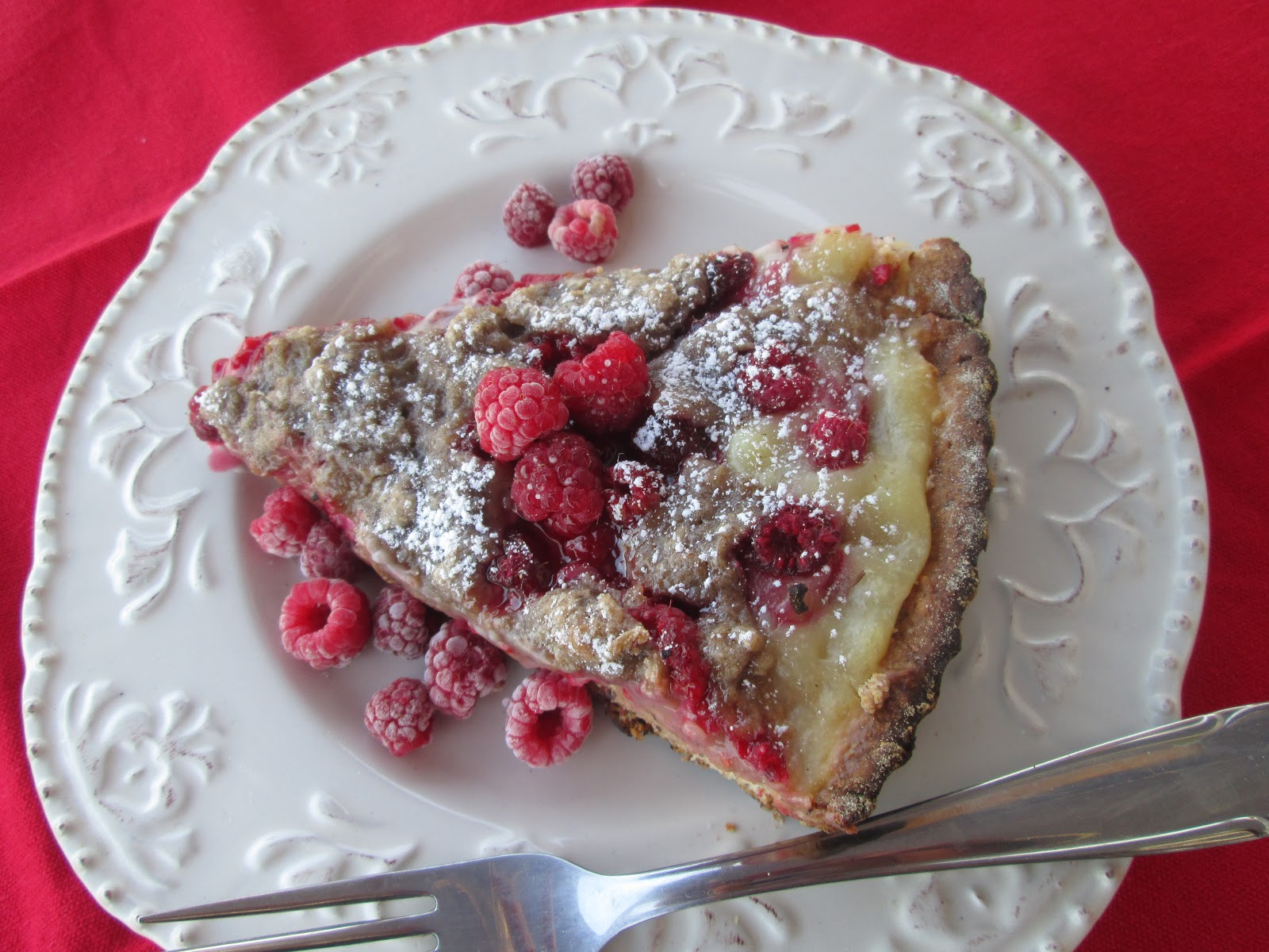 Canela kitchen : Raspberries kuchen with vanilla cream and streusel   {Küchenmöbel made in germany 74}