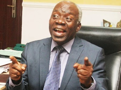 NBA's protest over Onnoghen is a mockery of legal profession-Falana