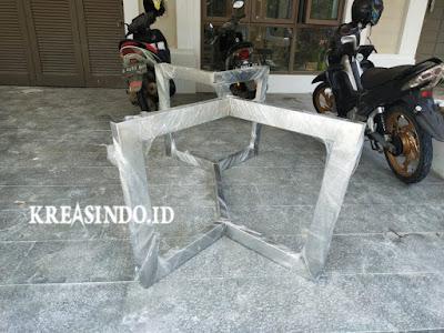 Kaki Meja Stainless pesanan Comvi Interior Design di BSD Tangerang ( Order Kedua )