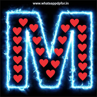 m letter love images download