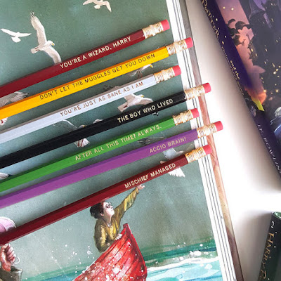 Harry Potter Pencils on Etsy