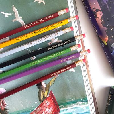 Harry Potter Pencils on Etsy