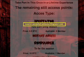red room deep web login