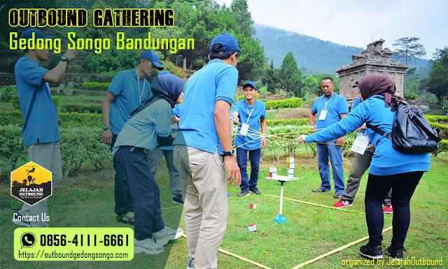 employee gathering gedong songo