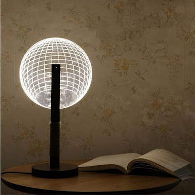 Globe 3D Dimmable Lamp