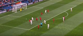 مباراة سويسرا والبرتغال فى نصف نهائى دورى الأمم الأوروبية