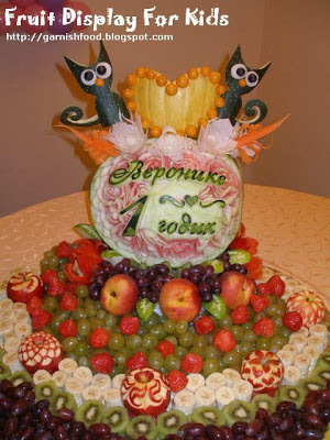 fruit and pumpkin grafts for children