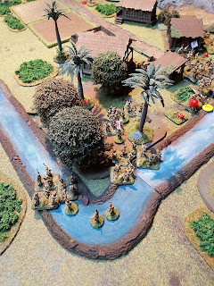 The flanking Japanese are held up by the river and jungle