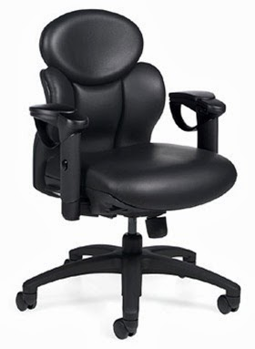 Global NuCAS Low Back Chair