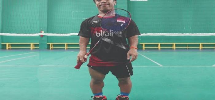 Atlet Badminton Mini ASEAN Para Games 2020 Dimas Triaji Ingin Bertemu Anthony Sinisuka Ginting