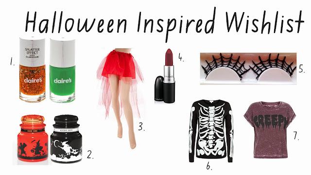 Halloween Wishlist!