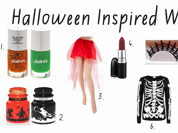 Halloween Wishlist!