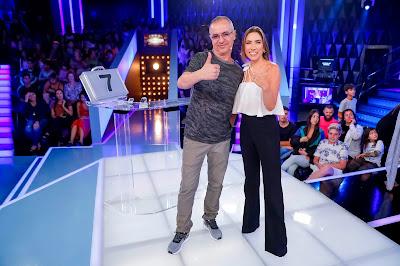 Patricia e Renato (Foto: Gabriel Cardoso/SBT)