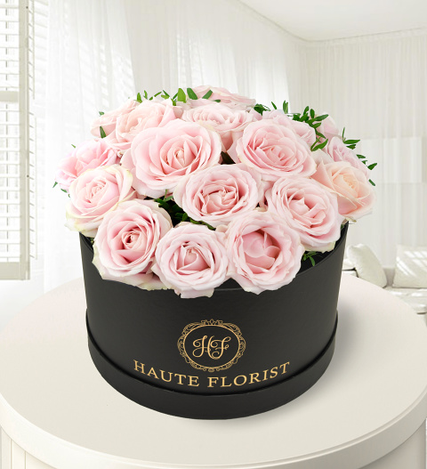 Prestige Flowers Review Hat Box Pink Roses