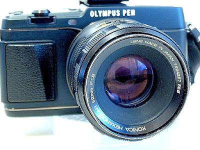 Olympus Pen E-P5, Konica Hexanon 52mm F1.8