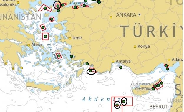 «Σφραγίδα» στην κυπριακή ΑΟΖ βάζει με νέες NAVTEX η Τουρκία