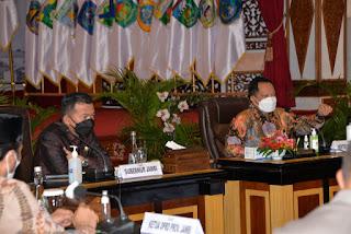 Gubernur Al Haris mendapat Apresiasi dari Mendagri atas penanganan Covid-19 di Jambi.